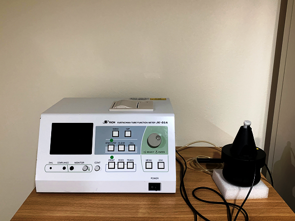 耳管機能検査
